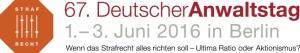 Logo Deutscher Anwaltstag