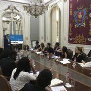 Mariscal Abogados ofrece una charla a estudiantes americanos de derecho