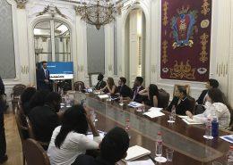 Mariscal & Abogados charla estudiantes americanos derecho