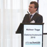 Karl H. Lincke en los Kölner Tage Datenschutzrecht