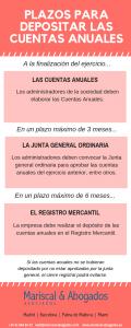 09 2019 Plazos para depositar las cuentas anuales