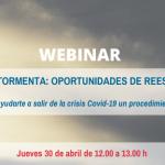 Webinar: Navegando la tormenta: oportunidades de reestructuración