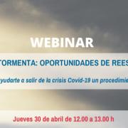 Invitación Webinar_ Navegando la tormenta_ oportunidades de reestructuración