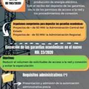 garantías proyectos fotovoltaicos